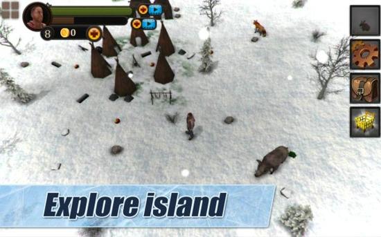 冬季岛3D无敌版