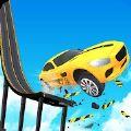 撞车事故斜坡特技