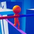 平衡钢丝绳游戏