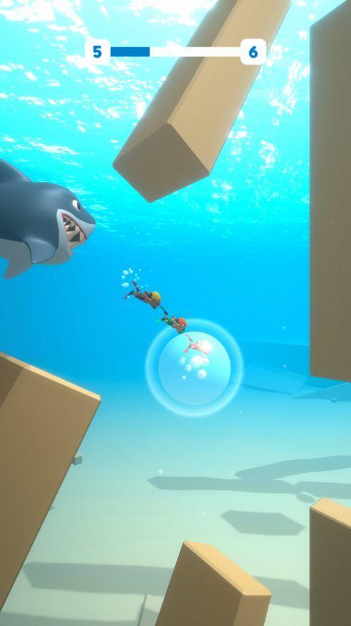 大白鲨逃脱