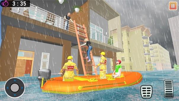 洪水救援任务紧急