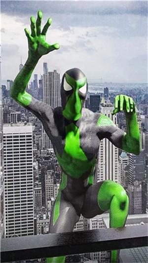 忍者蜘蛛盾英雄