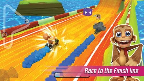 飞车黑猩猩大奖赛
