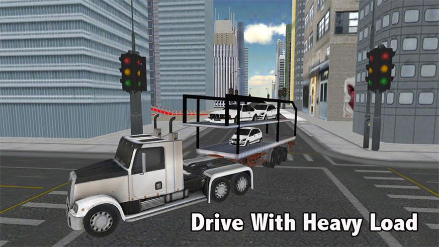 跑车卡车运输机3D