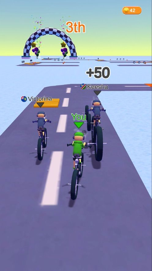 越野自行车赛ios