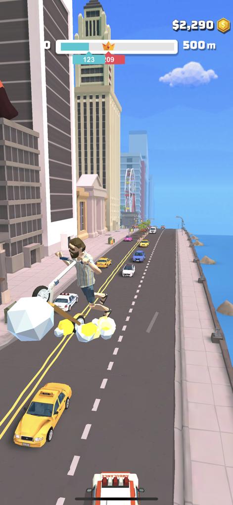 滑板车跳跃3D苹果版