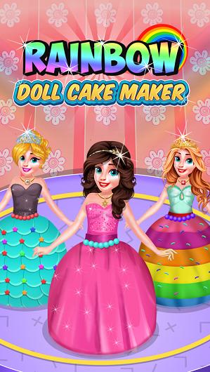 彩虹娃娃蛋糕机ios