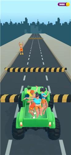 搭便车的女孩3Dios