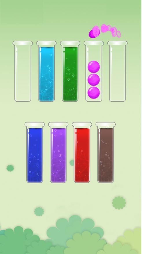 水滴排序拼图ios