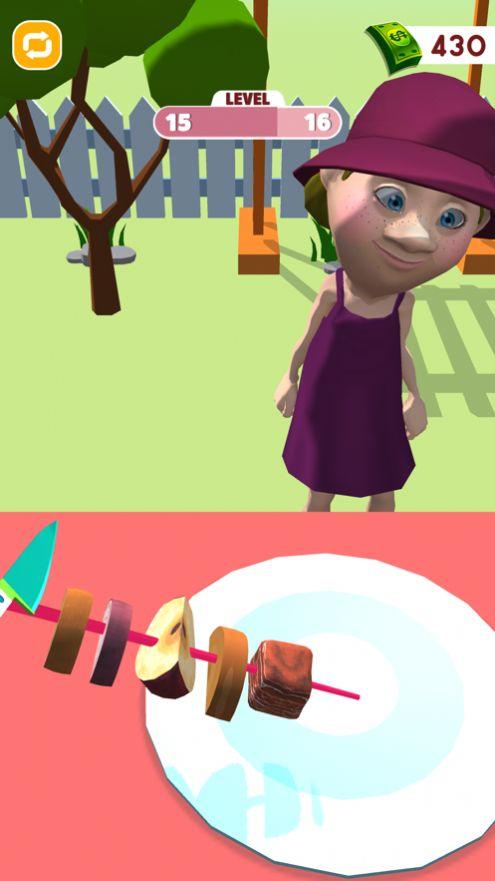 烤串制作3D游戏ios